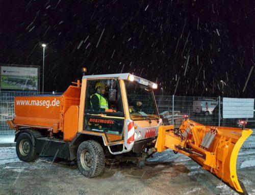 Winterdienst und Schneeräumpflicht: Wir erledigen das!