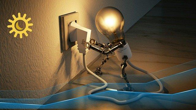 Energie sparen: Beleuchtung mit LED´ s und Bewegungsmeldern