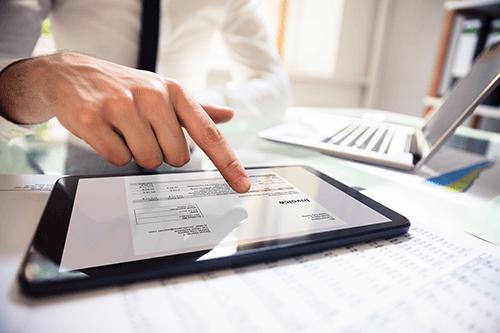 Digitale Buchhaltung Abrechnung Umweltschutz