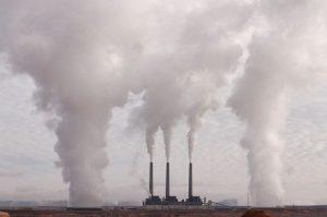 CO2 Emission durch Stromerzeugung mit fossilen Brennstoffen