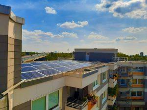Professionelle Reinigung Solaranlage