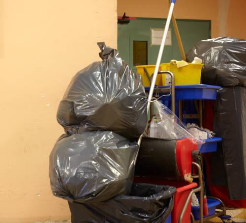 Abfallvermeidung in der Gebäudereinigung