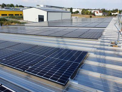PV-Anlage der Maseg GmbH in Waghäusel