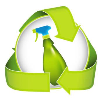 umweltschonende Reinigungsmittel und Reinigungs-Methoden