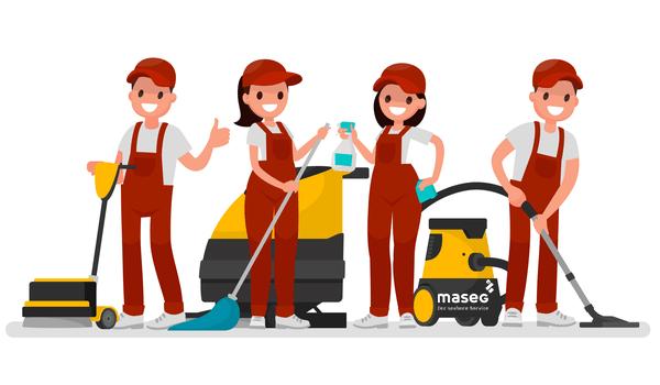 Übersicht Reinigungs-Diensleistungen Gebäudereinigung