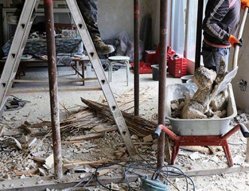 Baureinigung: Saubere Baustelle bereit zur Übergabe