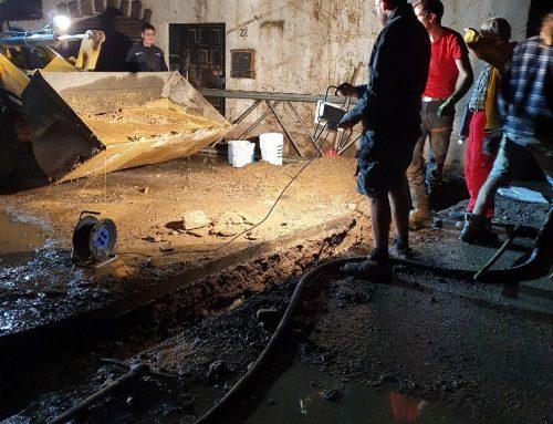 Update Helfereinsatz im Hochwassergebiet Ahrtal: Viel geschafft, noch viel zu tun!