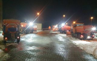 Winterdienst Fahrzeuge der MASEG GmbH