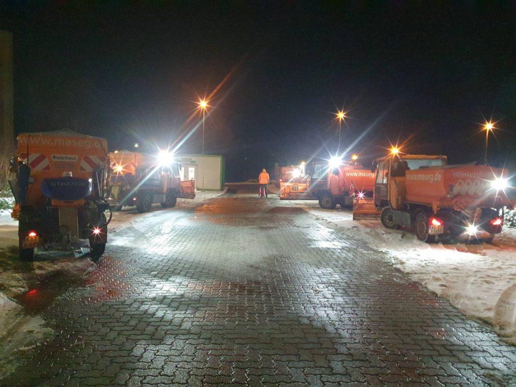 Winterdienst-Maschinen der MASEG GmbH